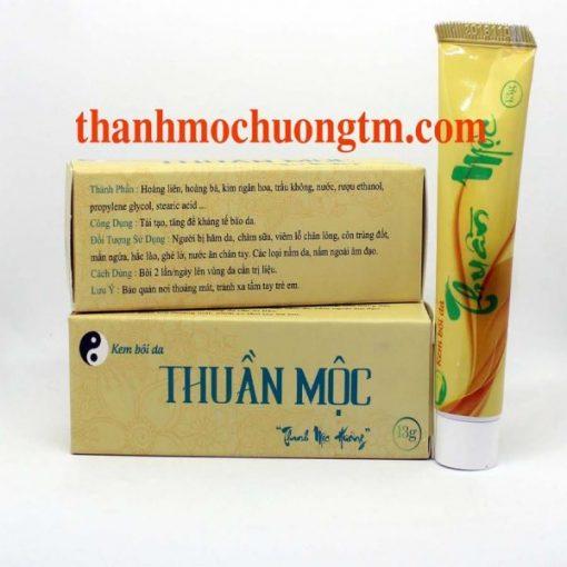 Kem Bôi Da Thuần Mộc Thanh Mộc Hương Tuýp 13g