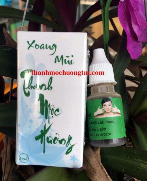 Dung Dịch Nhỏ Mũi - Thuốc Viêm Xoang Thanh Mộc Hương