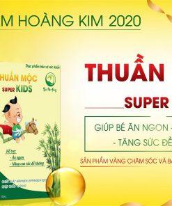Thuần Mộc Super Kids Thanh Mộc Hương - Bí Quyết Trị Biếng Ăn Cho Bé